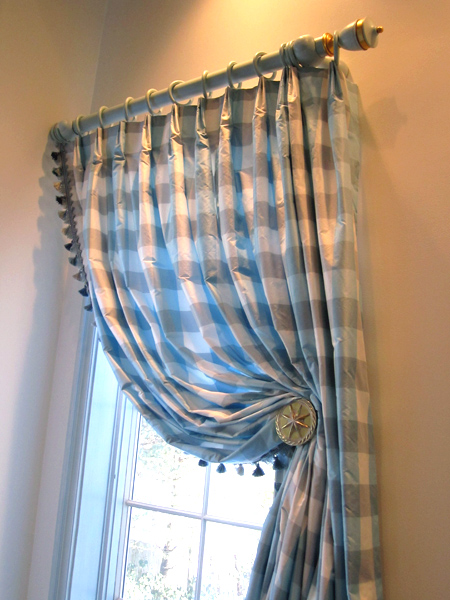 French Manor Purchase NY drapery detail
