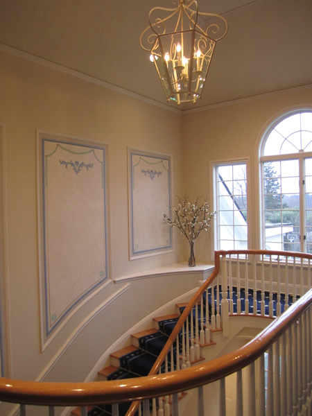 French Manor Purchase NY staircase