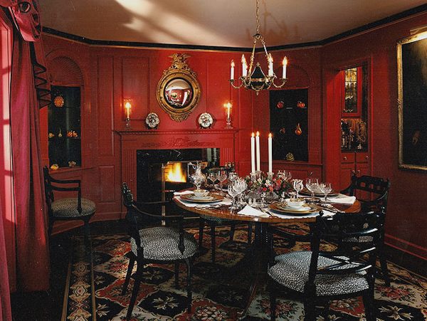 Greenwich Georgian diningroom