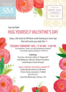 Hug Yourself Invitation (reduced SMI reduced flowers)