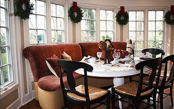 Riverside London banquette