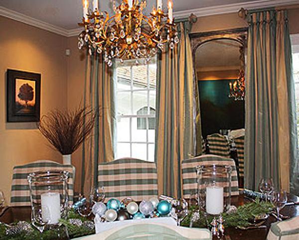 Riverside London dining room