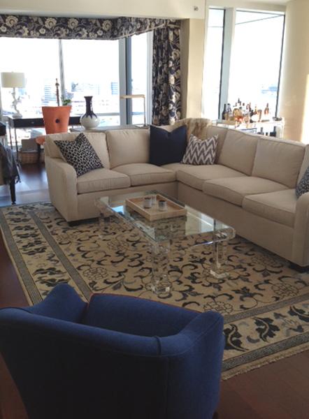 Stamford Condo Livingroom