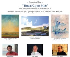 Three Good Men art exhibition