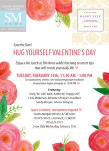 Hug Yourself Invitation