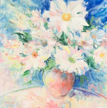 Bragg Summertime 24 x 24 Acrylic on Canvas