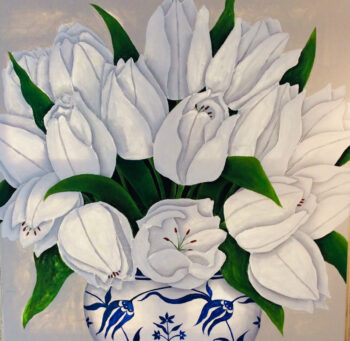 Reinhardt W-White Tulips