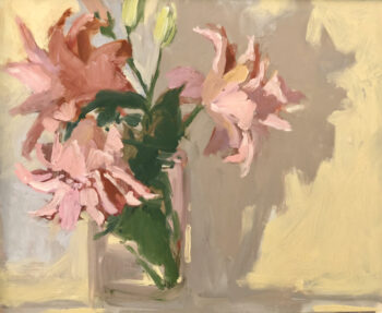 Lilies I by Monique Lazard