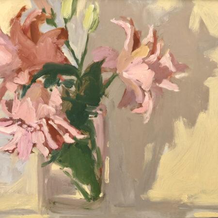 Lilies I by Monique Lazard