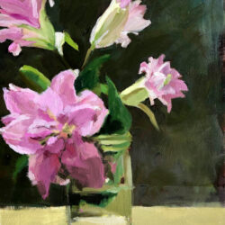 Lilies II by Monique Lazard