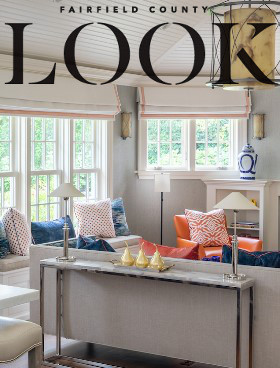 Sandra Morgan Interiors featured in Fairfield County Look