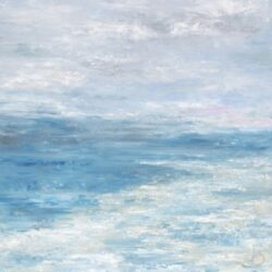 Water's Edge Oil on Canvas by Victoria Brooks Melly