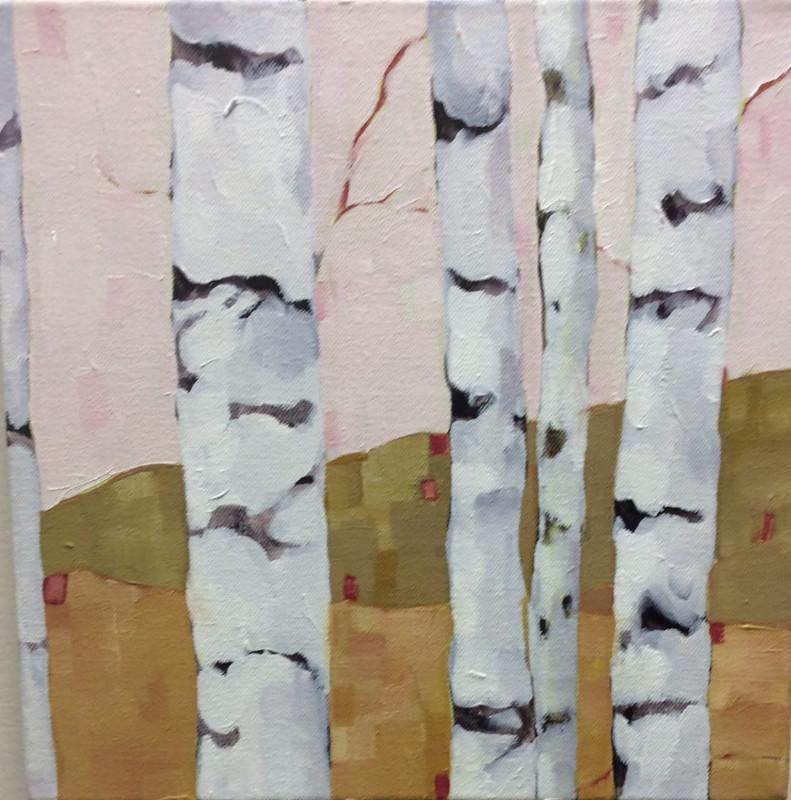 birch study pink Beth Munro