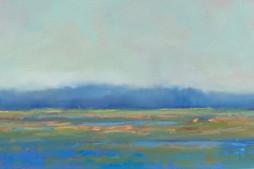 McCarthy Blue Marsh--oil on Canvas