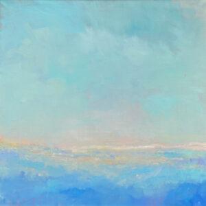 McCarthy Summer Blush Oil on Canvas Framed