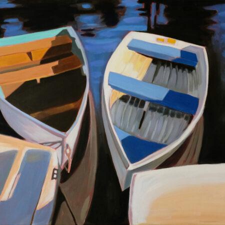 Paula_Morgan_1_On The Dock Masconomo I30x 40 oil on gallery wrapped canvas