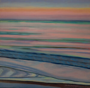 Morgan_Paula_9_Coffin's Beach Meditation 20 x 20 oil on gallery wrapped canvas
