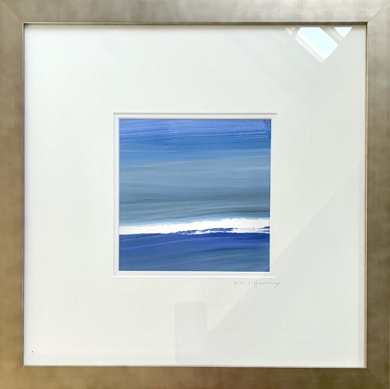 Re Scheidt Remembering When II Acrylic + Guache on watercolor paper 20 x20