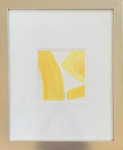 Re Scheidt Sunshine I acrylic + Gouache on Water colors paper 20 x 16