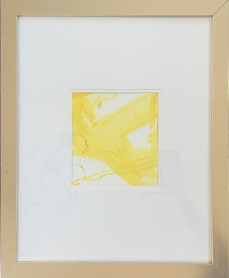 Re Scheidt Sunshine II Acrylic + Gouache on water Color paper 20 x16