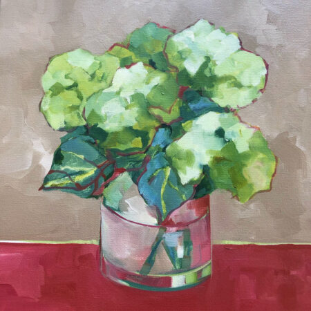 Hydrangeas Tan + Red Beth Munro
