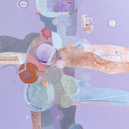 Penny Putnam Tango 48 x 36 Mixed Media on Canvas